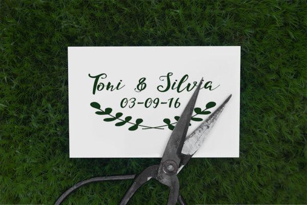 sello estilo campestre boda ideas