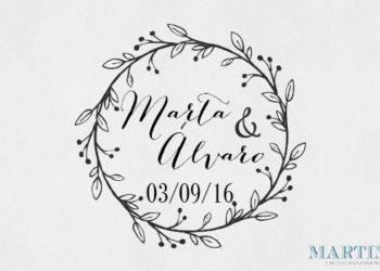 sellos boda personalizados baratos