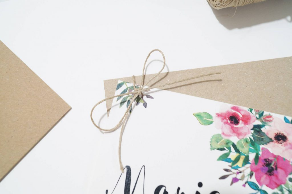 invitaciones de boda floral acuarela detalle