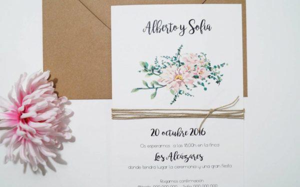 invitaciones de boda la candida