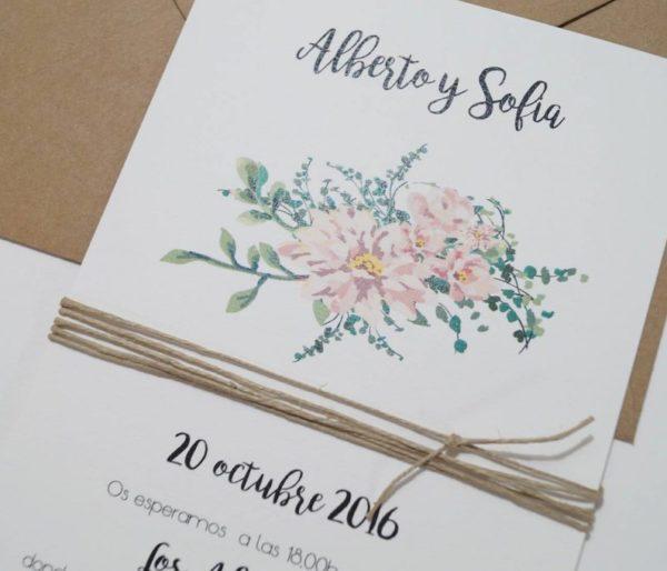 invitaciones de boda la candida detalle