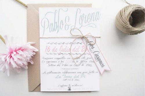 invitaciones de boda la suave