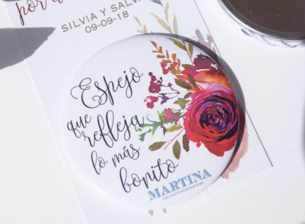 espejos personalizados boda