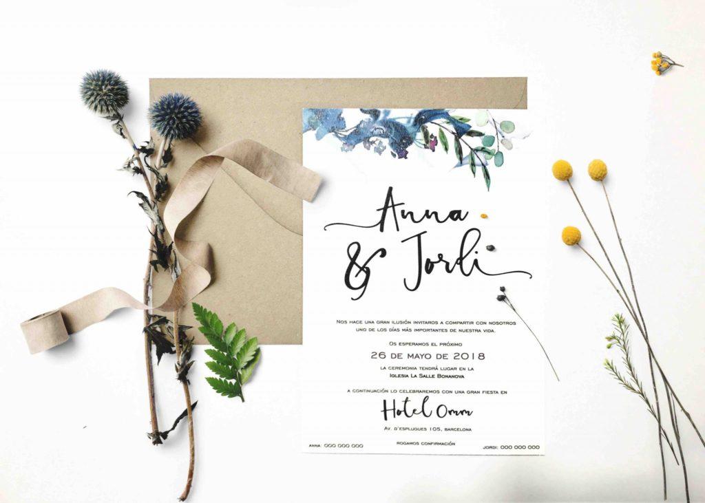 invitaciones de boda original urban