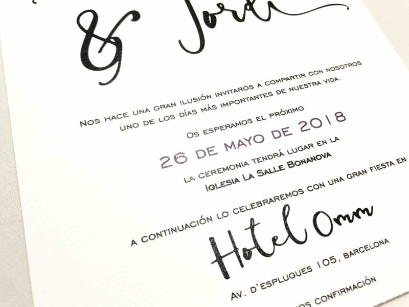 invitacion de boda original urban para bodas de ciudad