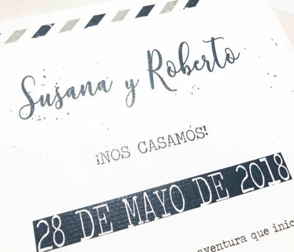 invitacion de boda viaje detalle fondo