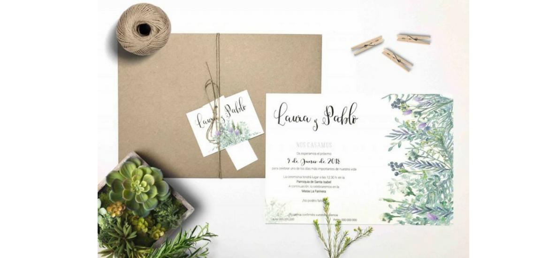 Cómo hacer una tarjeta de invitación de boda