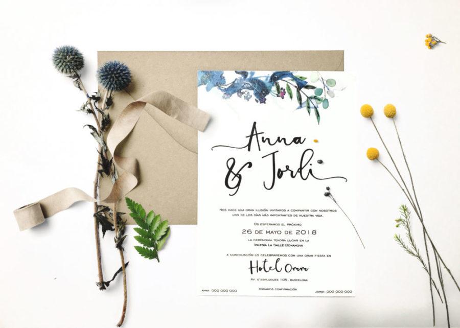 como hacer invitaciones de boda