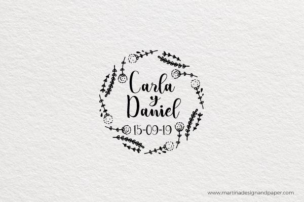 sello de boda nombres elegantes