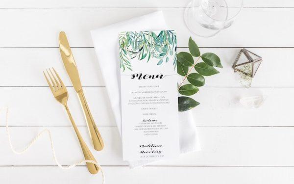 menu boda campestre