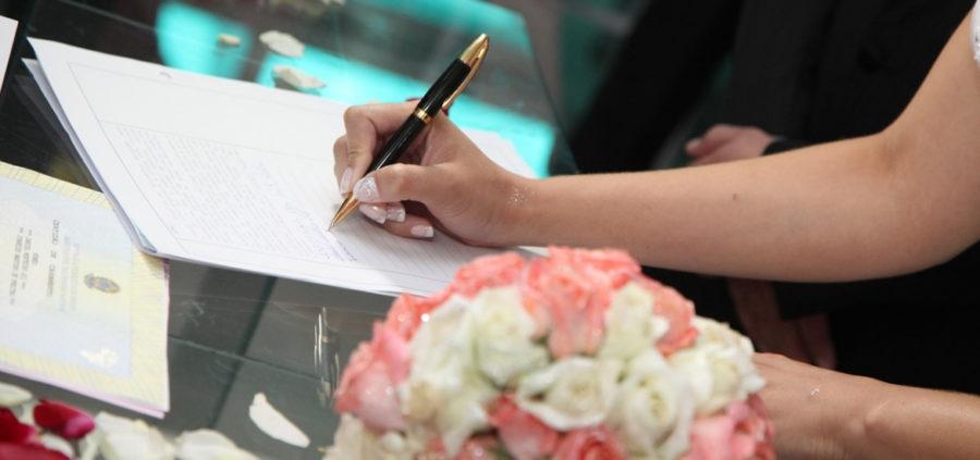 Trámite para bodas civil y religiosa