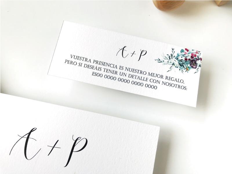 INVITACIONES ORIGINALES OLIVO