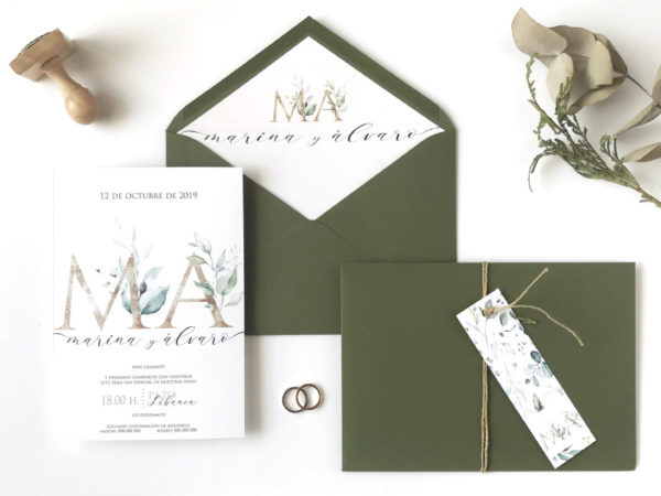 invitaciones de boda personalizadas