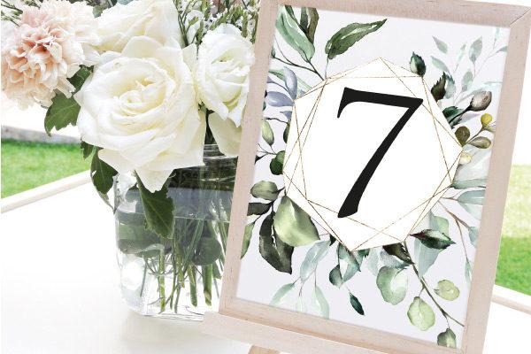 numeros de mesa para bodas baratos