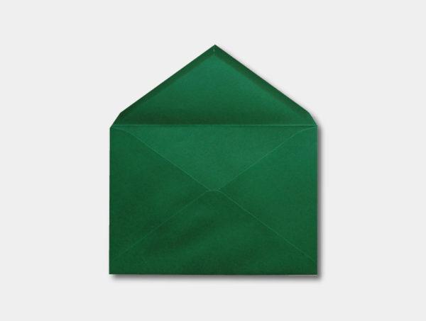Sobre para invitacion de boda en verde