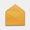 sobre para invitacion amarillo ocre