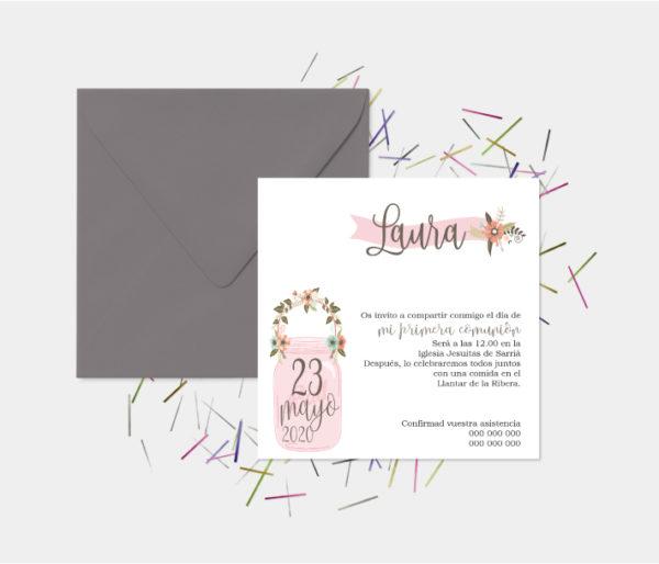invitaciones de primera comunion barcelona