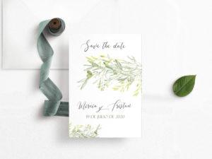 save the date boda para enviar