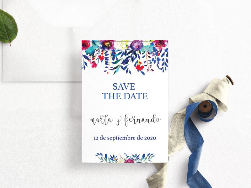 save the date digital original whastapp