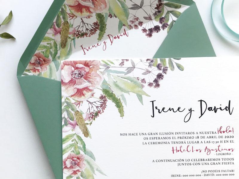 invitaciones-de-boda-originales-con-flores