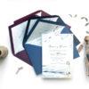 invitaciones de boda playa y mar