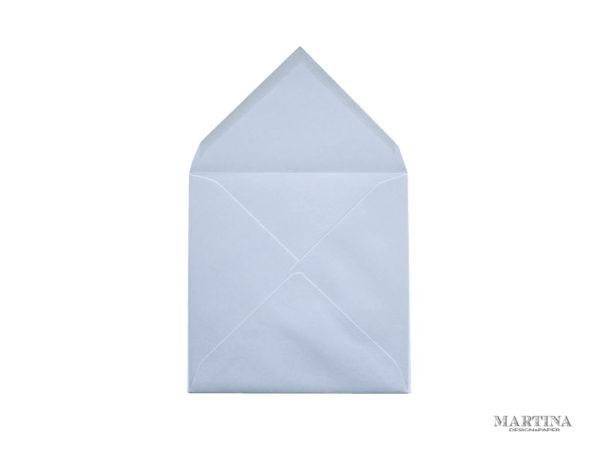 Sobres de invitacion de boda cuadrado gris perla