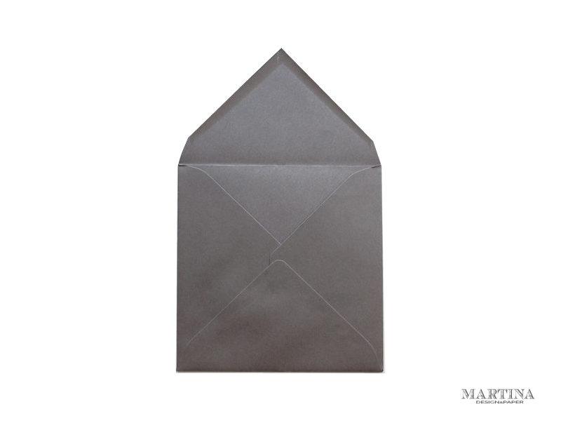 Sobres de invitacion de boda cuadrado gris