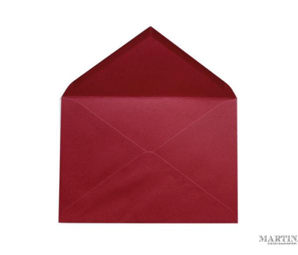 sobres para invitaciones rojo
