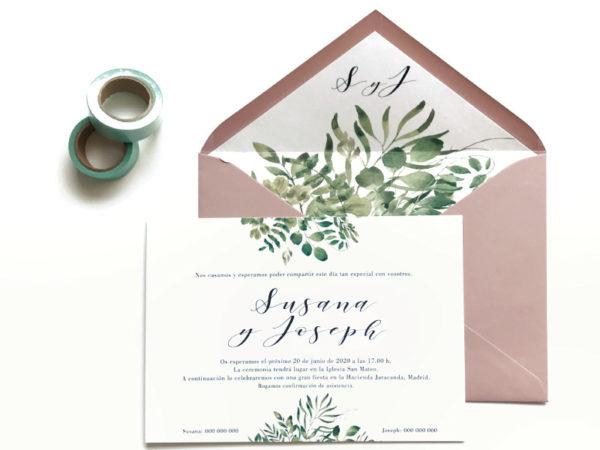 modelos de invitaciones de boda