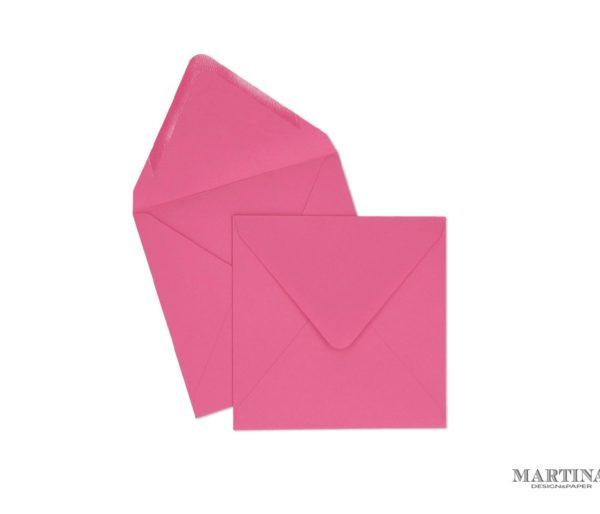 Sobres para invitaciones de boda cuadrado rosa fucsia