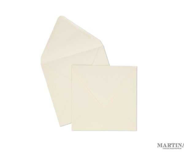 sobres para invitaciones de boda cuadrado crema