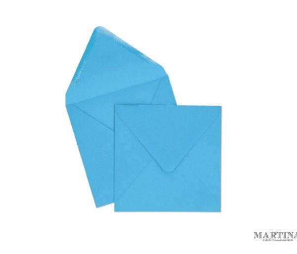 Sobres para invitaciones de boda cuadrado azul turquesa