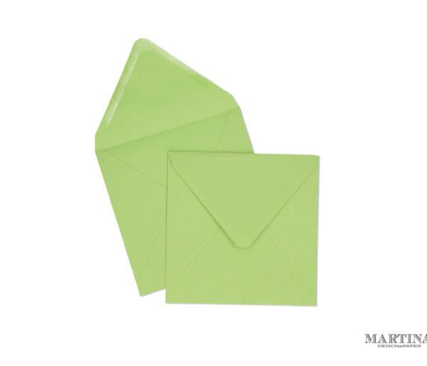 Sobres para invitaciones de boda verde lima