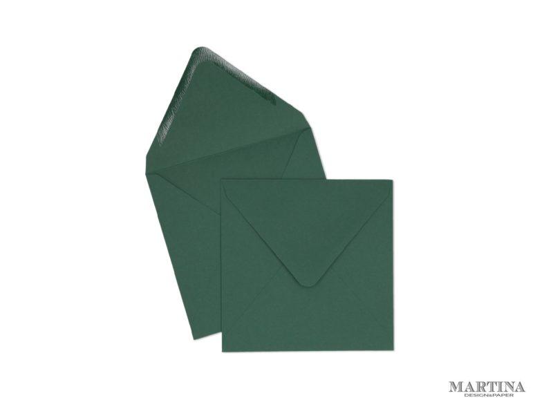 Sobres para invitaciones de boda cuadrado verde cactus