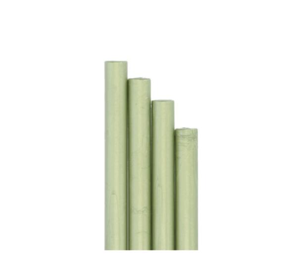 barras de lacre verde perlado