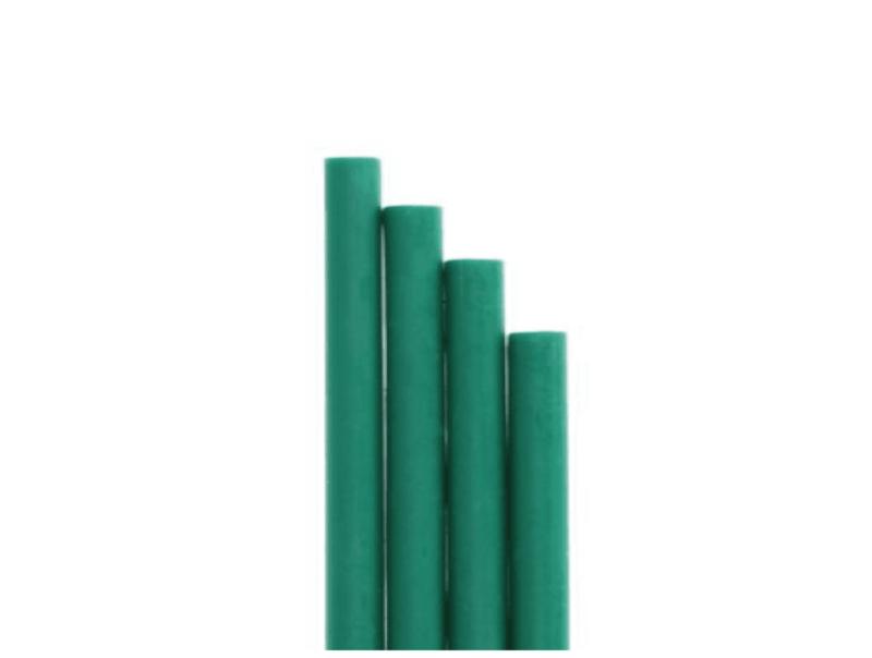 barras de lacre verde