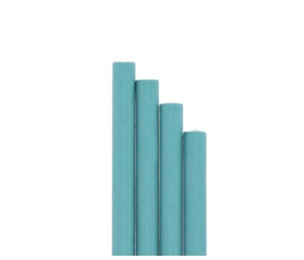 barras de lacre para sello azul turquesa