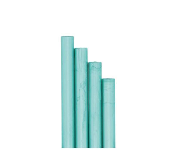 barras de lacre para sello azul aguamarina