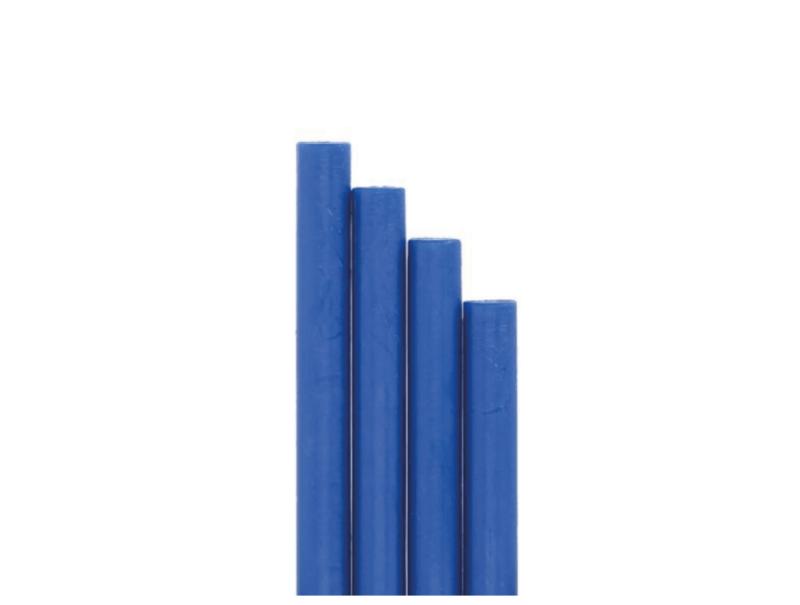 barras de lacre para sello azul marino