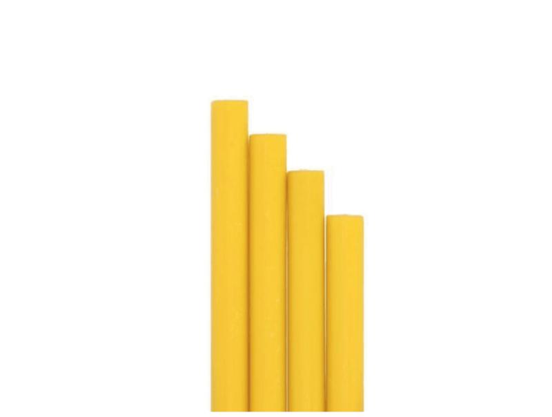 barras de lacre para sello amarillo