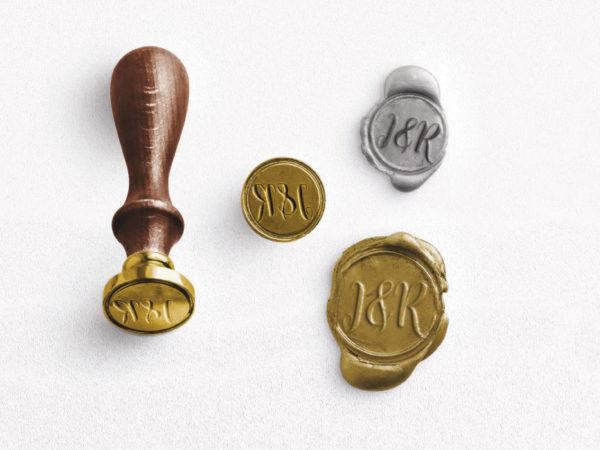 sellos de cera personalizados