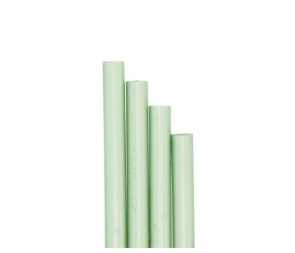 barras de lacre verde menta