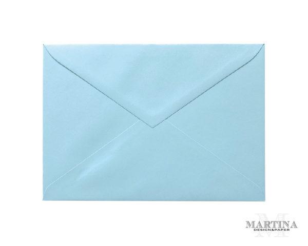 Sobres para invitaciones de boda azul celeste