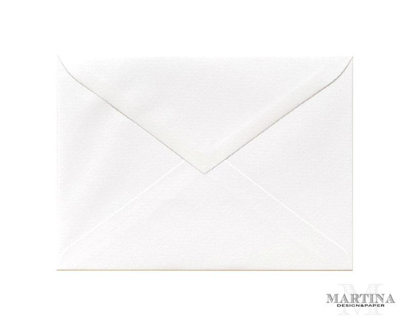 Sobres para invitaciones de boda blanco textura