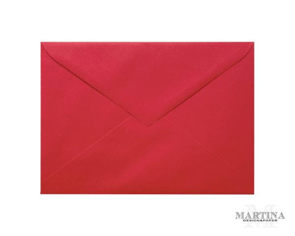 Sobres para invitaciones de boda rojo