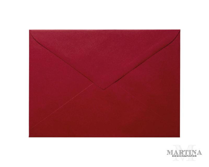 Sobres para invitaciones de boda rojo cereza