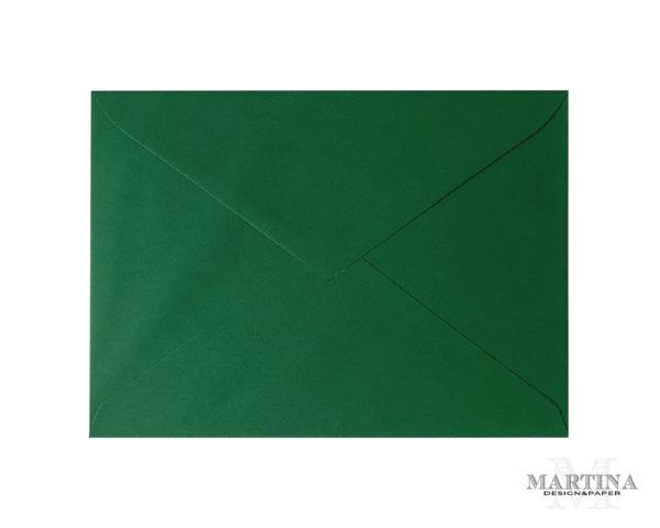 Sobres para invitaciones de boda verde hoja