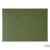 Sobres para invitaciones de boda verde olivo