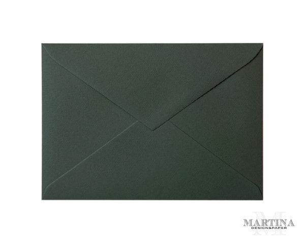 Sobres para invitaciones de boda verde textura