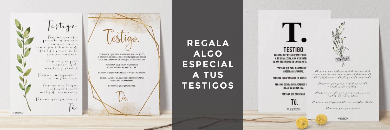 REGALOS PARA TESTIGOS BODA